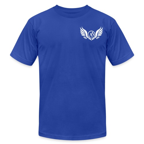 Ascend Wings Mens Casual Tee - Men's Jersey T-Shirt