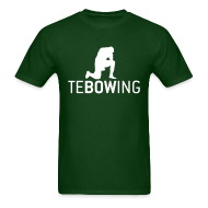 T-Shirts ~ Men's T-Shirt ~ Navy Classic Tebowing Shirt