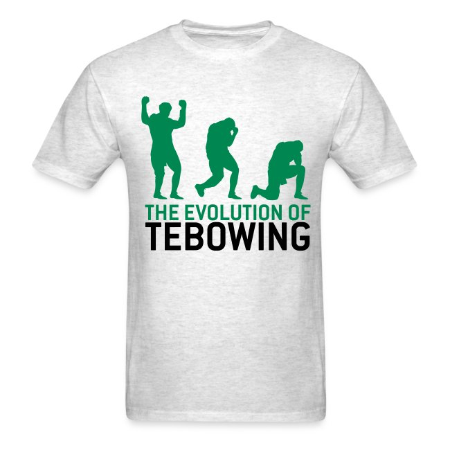 The Evolution of Tebowing