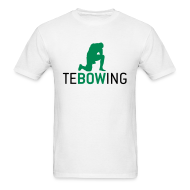 T-Shirts ~ Men's T-Shirt ~ Tebowing White