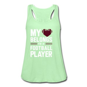 FootBall Player - Women's Flowy Tank Top by Bella