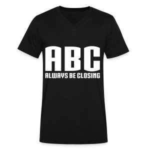 ABC - Always Be Closing - Men's V-Neck T-Shirt by Canvas