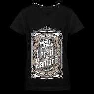 T-Shirts ~ Women's V-Neck T-Shirt ~ Fred Sanford - Women's Premium V-Neck - Black