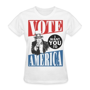 Uncle Sam wants you to VOTE - Women's T-Shirt
