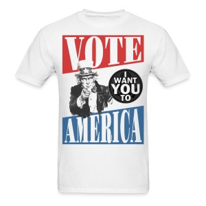 Uncle Sam wants you to VOTE - Men's T-Shirt