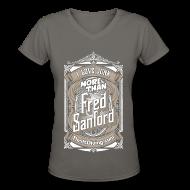 T-Shirts ~ Women's V-Neck T-Shirt ~ Fred Sanford - Women's V Neck - Graphite Gray