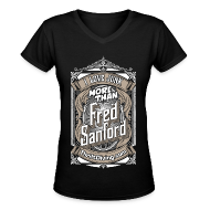T-Shirts ~ Women's V-Neck T-Shirt ~ Fred Sanford - Women's V Neck - Black