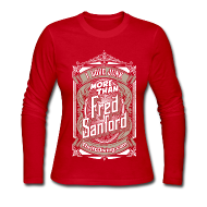 Long Sleeve Shirts ~ Women's Long Sleeve Jersey T-Shirt ~ Fred Sanford - Women's Long Sleeve