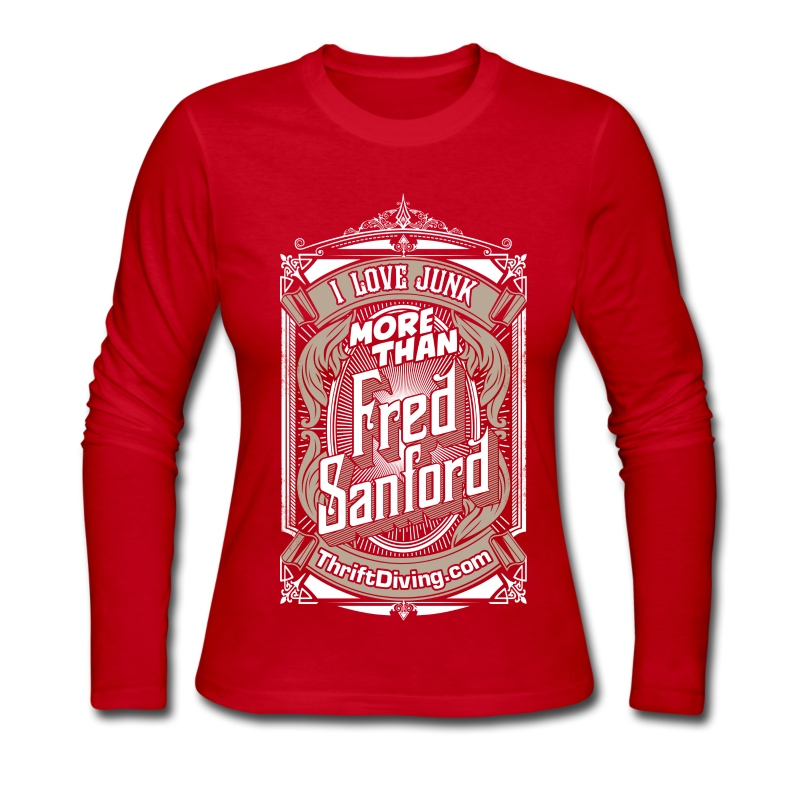 Fred Sanford - Women's Long Sleeve - Women's Long Sleeve Jersey T-Shirt