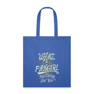 Fangirl Tote Blue - Tote Bag
