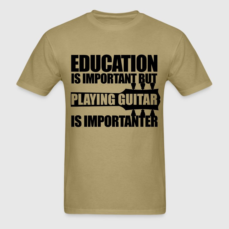 Education playing guitar bk t shirt spreadshirt for T shirt design for education