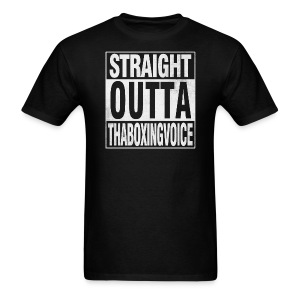 Straight Outta ThaBoxingVoice - Men's T-Shirt