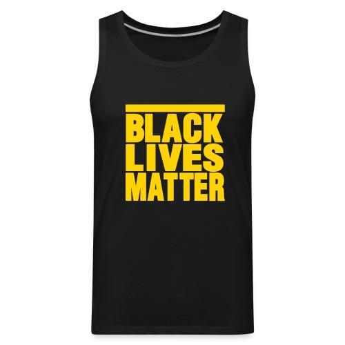 BLACK LIVES MATTER Men's tank-top - Men's Premium Tank