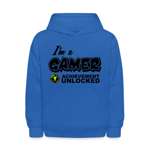 I'm a gamer, achievement unlocked - Kids' Hoodie
