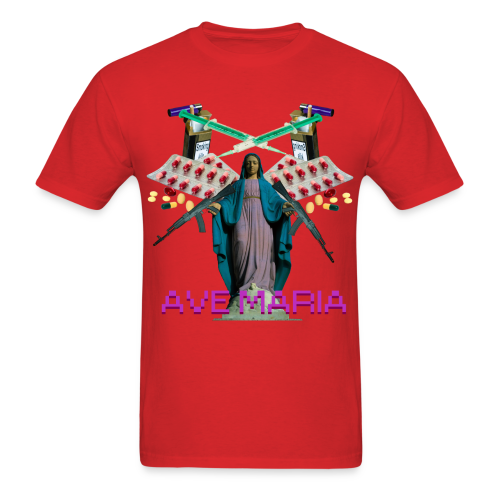 Ave Maria - Men's T-Shirt