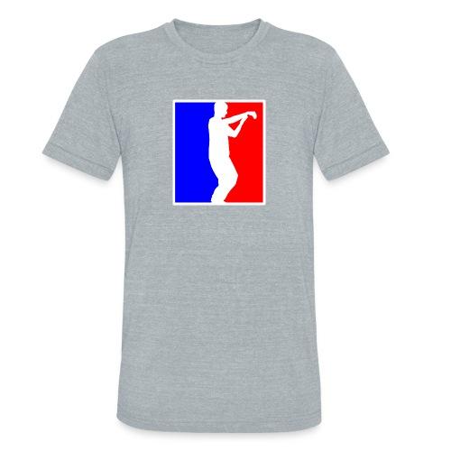 Men's Vintage Grey American Apparel Tai Chi T-Shirt - Unisex Tri-Blend T-Shirt