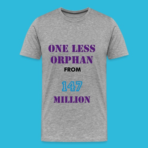 One Less Orphan - Men's Premium T-Shirt