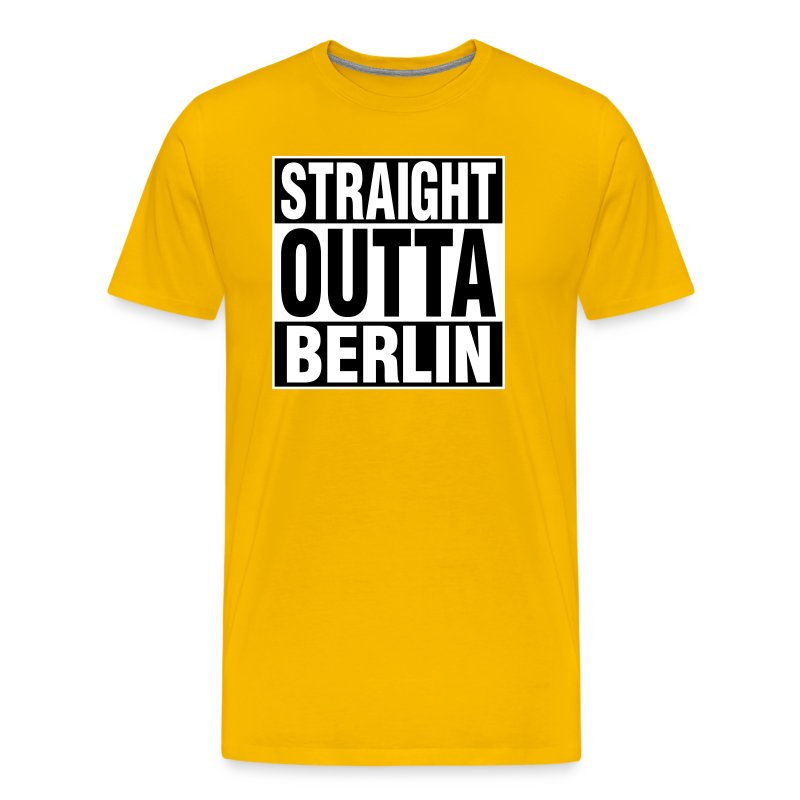 straight outta berlin t shirts t shirt spreadshirt. Black Bedroom Furniture Sets. Home Design Ideas