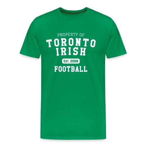 Property of Toronto Irish Football  - Men's Premium T-Shirt