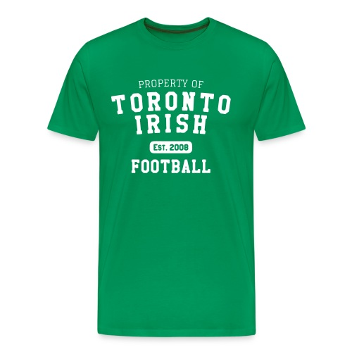 Property of Toronto Irish Football  - Men's Premium T-Shirt