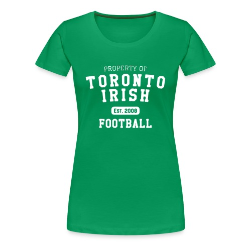 Property of Toronto Irish Football (womens) - Women's Premium T-Shirt