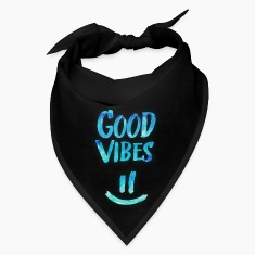 Good Vibes - Funny Smiley Statement / Happy Face Caps