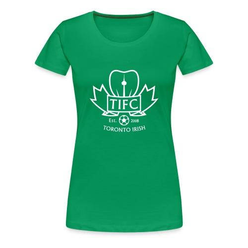 Toronto Irish FC crest (womens) - Women's Premium T-Shirt
