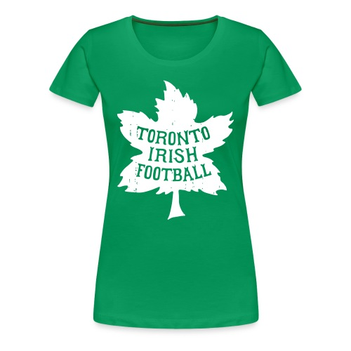 Toronto Irish Maple Leaf (womens) - Women's Premium T-Shirt