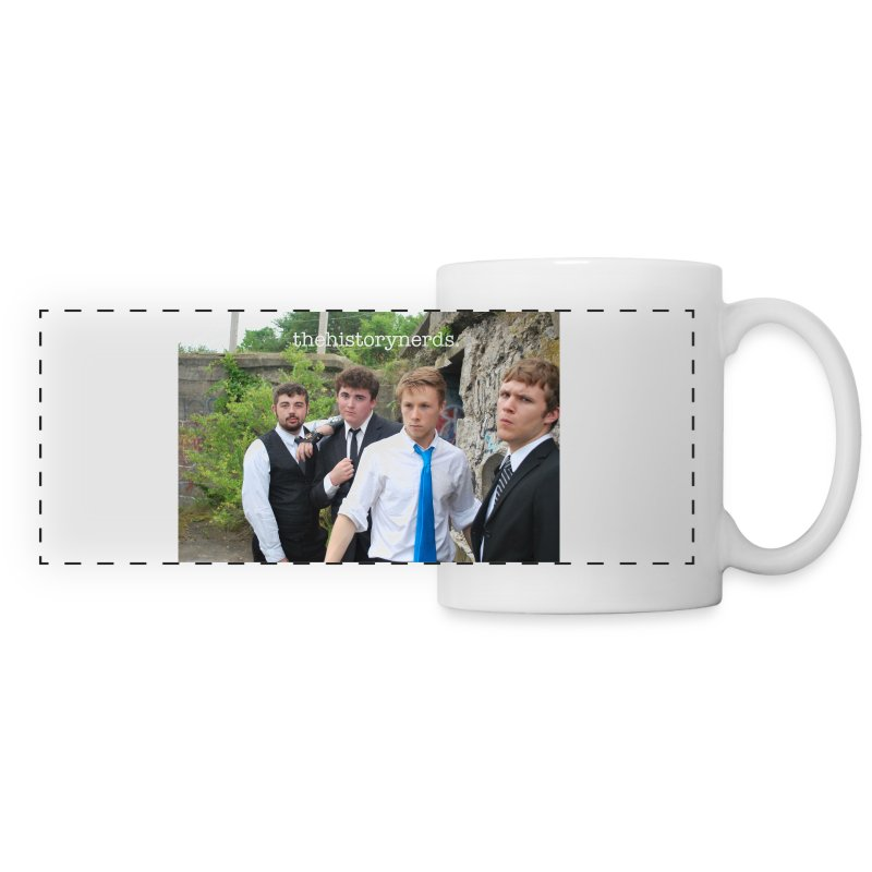 THN Banner Mug w/ Text - Panoramic Mug