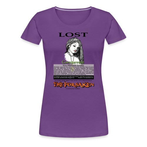 Lost - The Forsaken book tee - Women's Premium T-Shirt