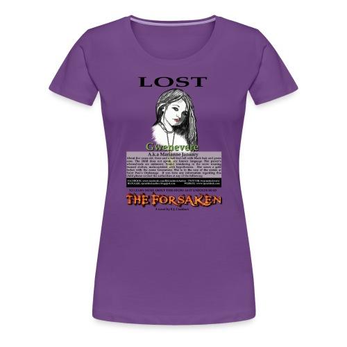 Lost - The Forsaken book tee - Women's Premium T-Shirt