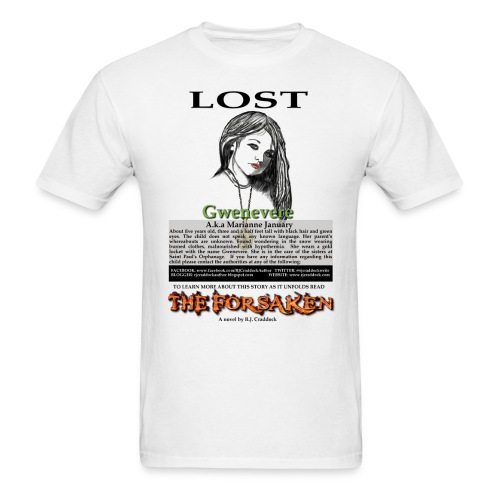 Lost - The Forsaken book tee - Men's T-Shirt