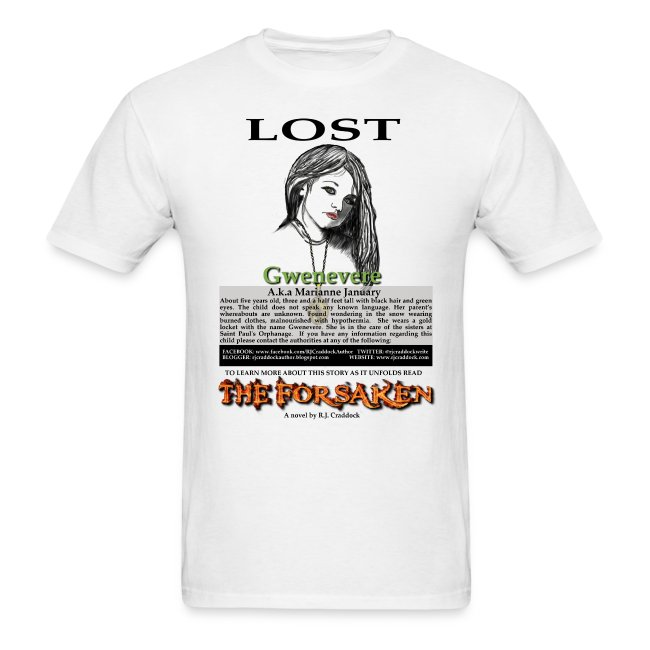 Lost - The Forsaken book tee