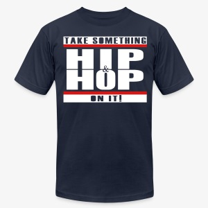 hip hop tee - Men's T-Shirt by American Apparel