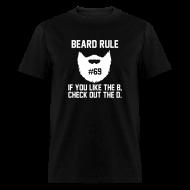 T-Shirts ~ Men's T-Shirt ~ Beard Rule #69