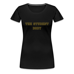 Smooth House Black and Gold Tee - Women's Premium T-Shirt