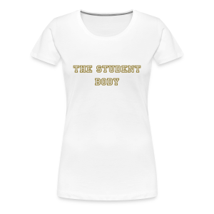 Smooth House white and Gold Tee - Women's Premium T-Shirt