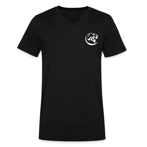 Black Panther Black V-neck - Men's V-Neck T-Shirt by Canvas