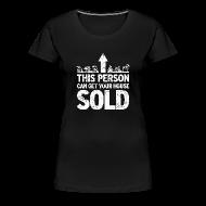 Women's T-Shirts ~ Women's Premium T-Shirt ~ Get Your House Sold