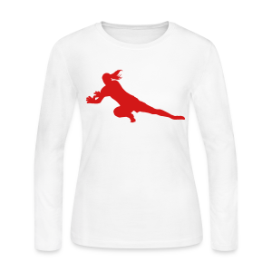 Keeper Logo Jersey Long Tee - Women's Long Sleeve Jersey T-Shirt