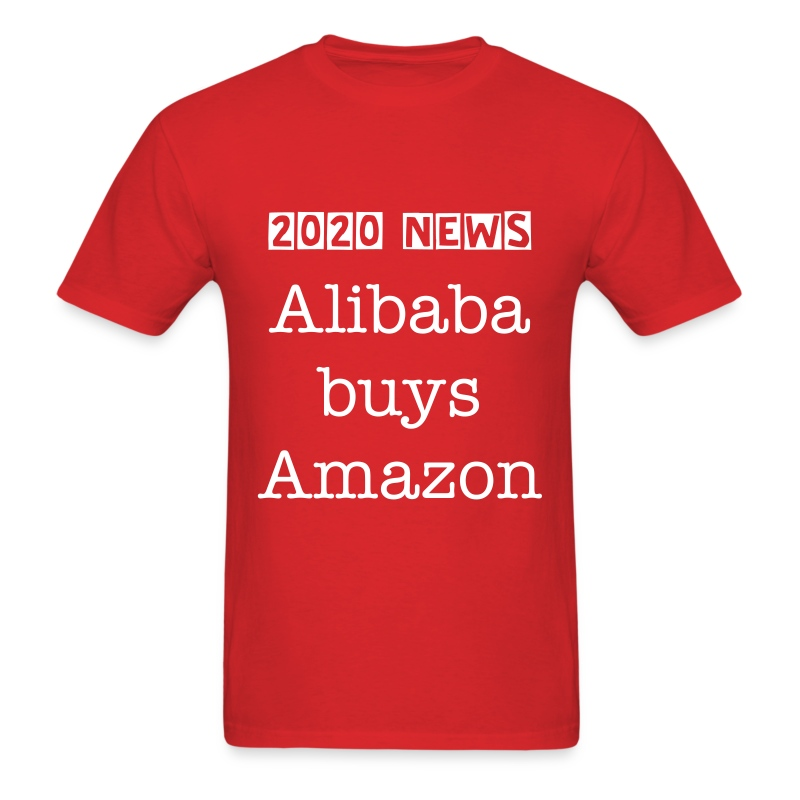 Alibaba buys Amazon - Men's T-Shirt