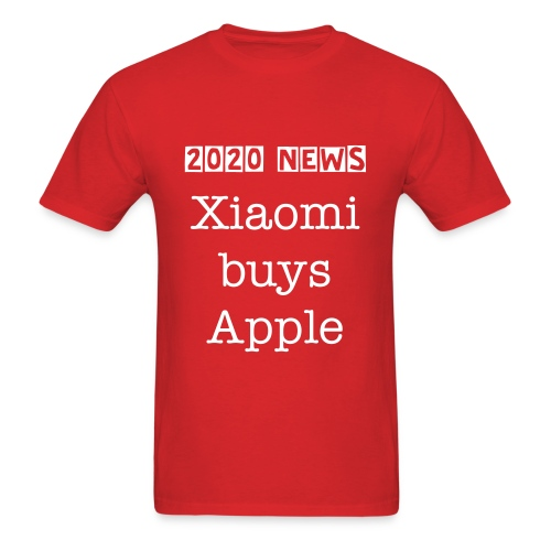 Xiaomi buys Apple - Men's T-Shirt