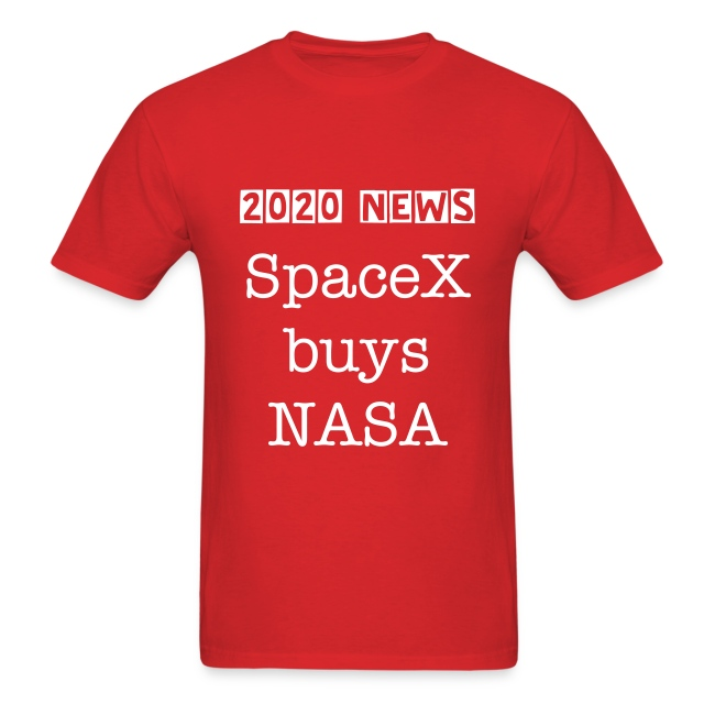 SpaceX buys NASA