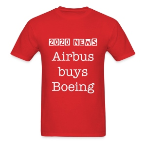 Airbus buys Boeing - Men's T-Shirt