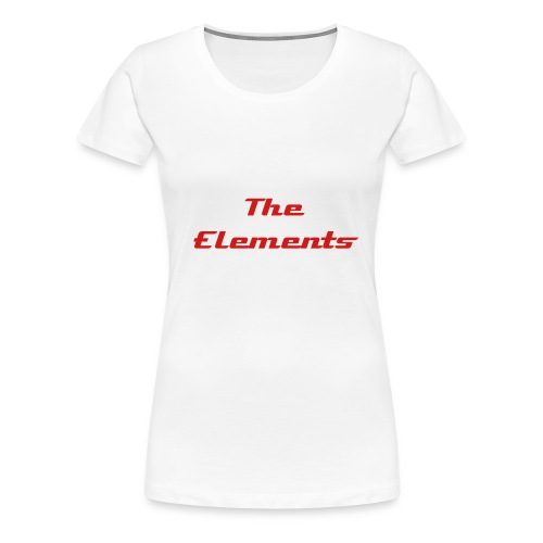 The Elements Spider  - Women's Premium T-Shirt