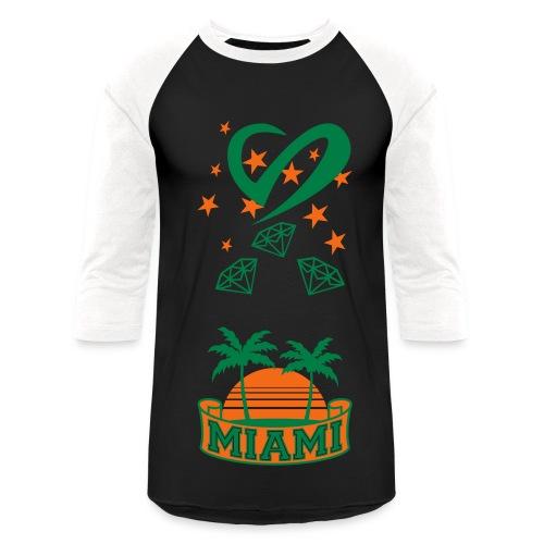 Diamond Life: G/B South Beach - Baseball T-Shirt