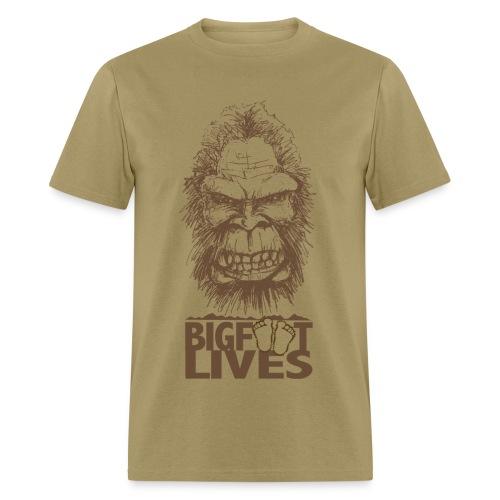 Bigfoot Lives - Men's T-Shirt