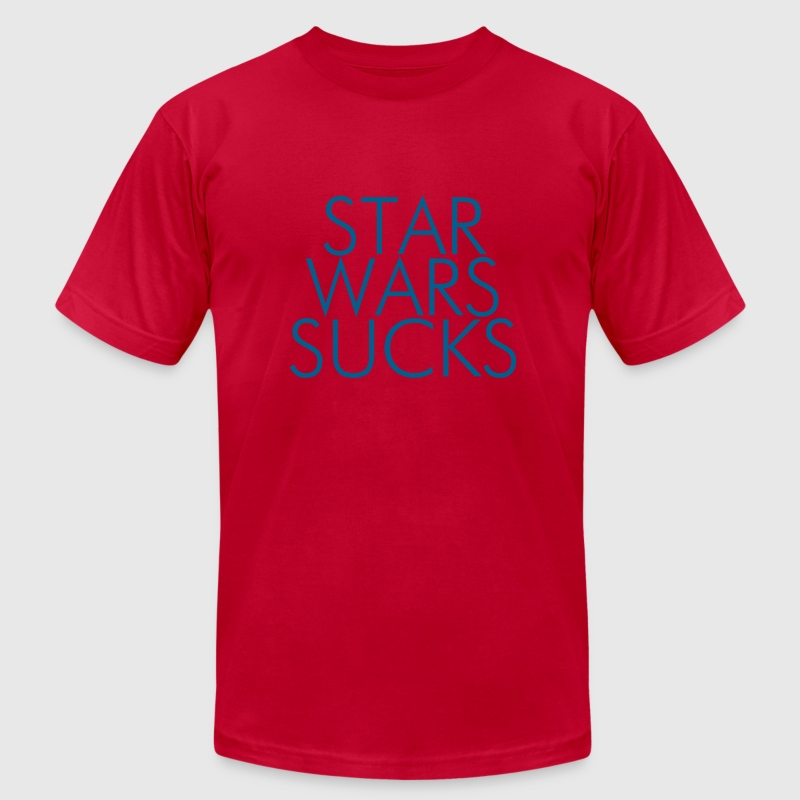 Star Wars Sucks - Men's T-Shirt by American Apparel