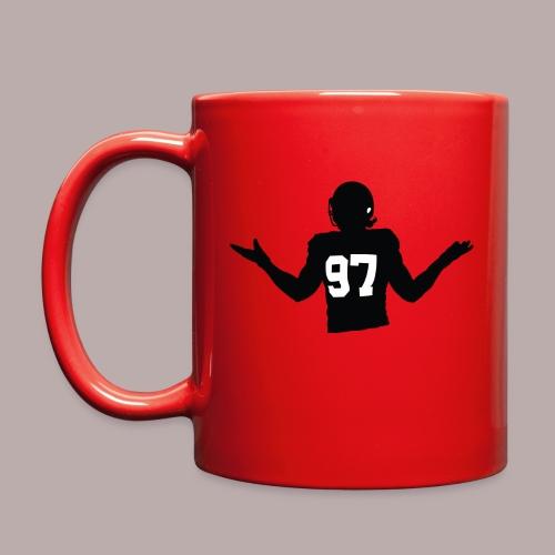 Red Shrug Mug  - Full Color Mug