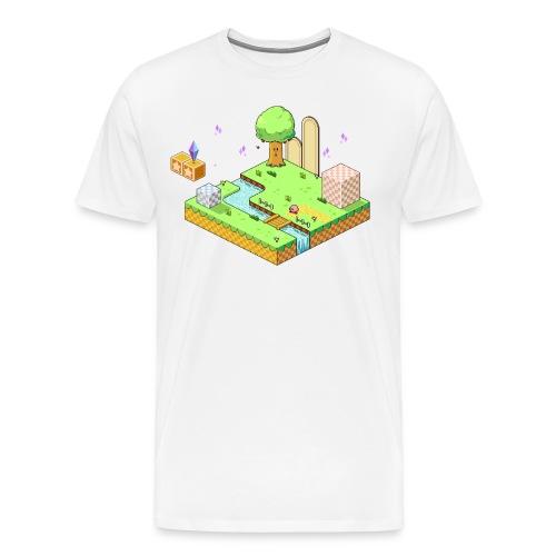 crystal shards - Men's Premium T-Shirt